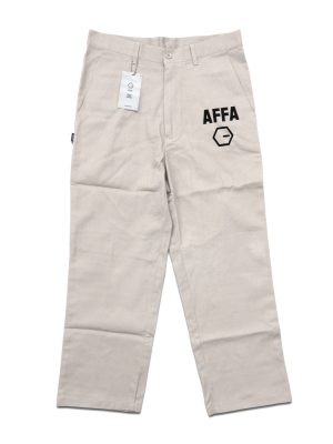 AFFA Khaki Chino Cropped Pants