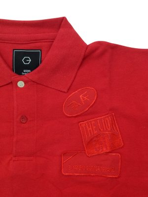 AFFA Red Polo Shirt