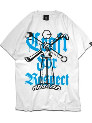 Craft For Respect (Tool) White Tee