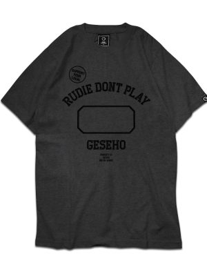 Don't Play Charcoal Tee
