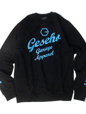 GGA Pull Crew Black Sweater