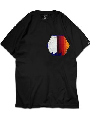 Pendleton Logo Pocket Black Tee