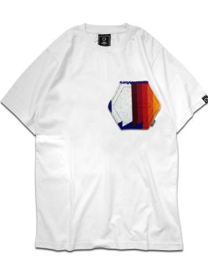 Pendleton Logo Pocket White Tee