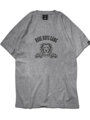Rude Boys Gang Grey Tee