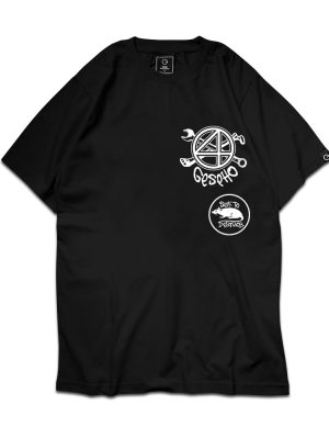 Tool & Bone Rats Black Tee